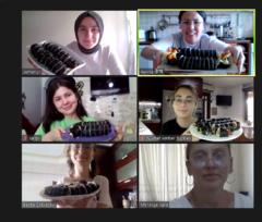 온라인으로 배우는 김밥 만들기